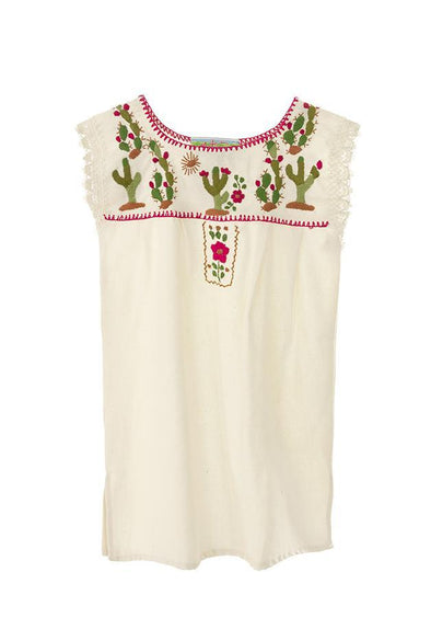 New! Girls Cactus Dress - 6 Sizes Available