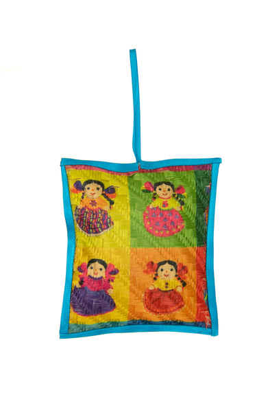 Ornaments - NEW!! Printed Jute -  Multiple Options