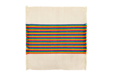 Striped Woven Napkin- Multiple Color Options