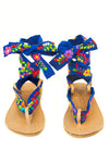 Flower Power Sandal Ribbon Pair