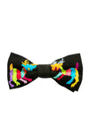 Otomi - Bow Tie - Black with Multi