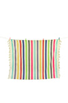 Color Block Striped Throw- Multi Original