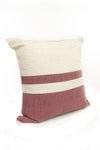 Collegiate Pillowcase- Color Block Woven - Maroon