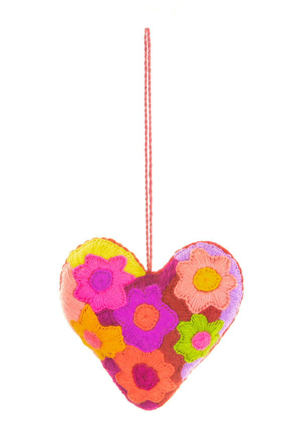 Ornament- Wool Corazon -  Assorted