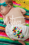 Baby Bloomers with Otomi Embroidery