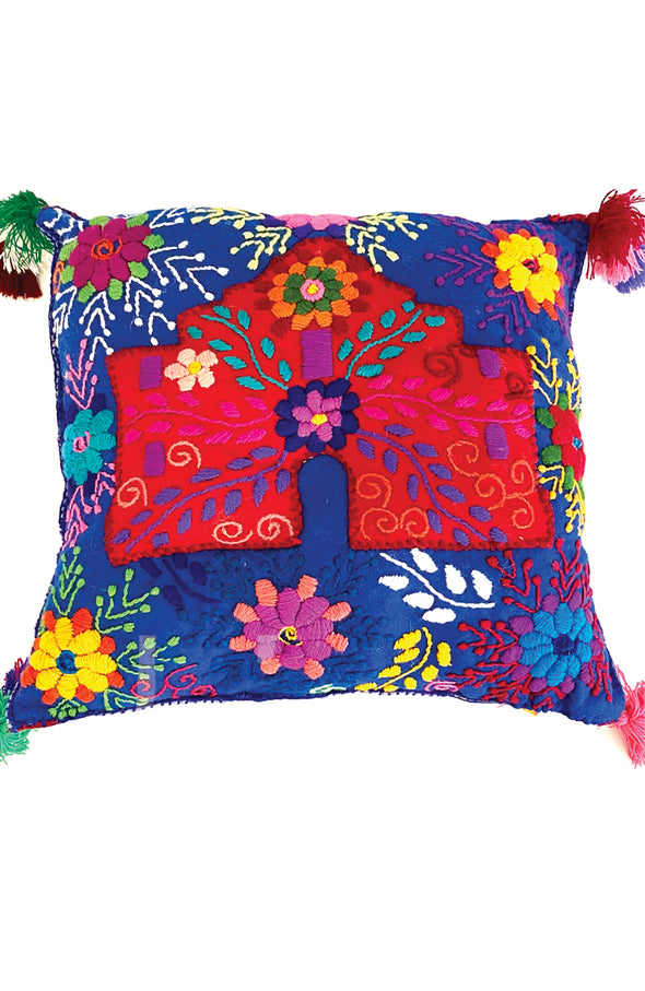 "Pillow - Wool ""Remember the Alamo!"""