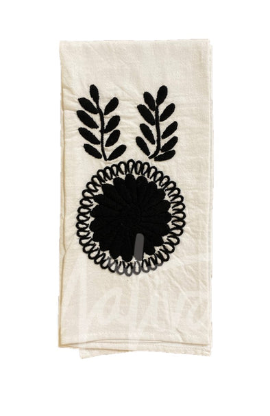 Hand Towel - Chiapas Embroidered - 6 Color Options