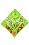 Embroidered Bandana Otomi- Multiple Colors Available