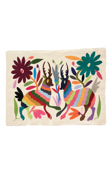 Otomi Embroidered Fabric