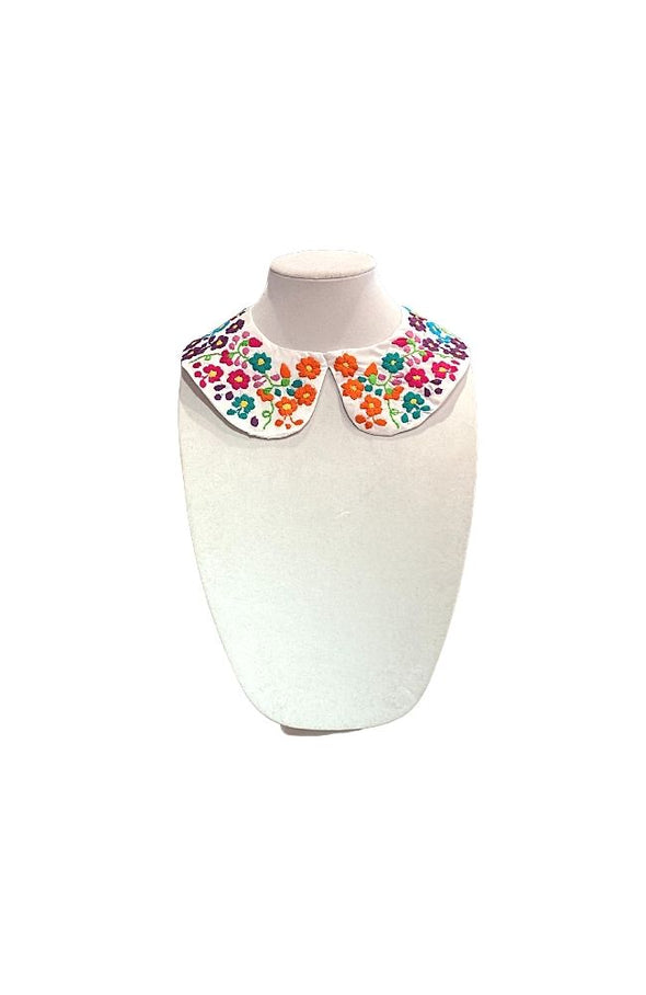 Flower Embroidered Collar