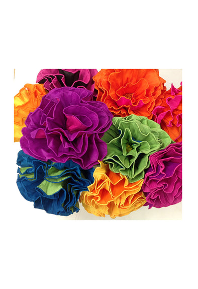 Paper Flower - Assorted Colors - 3 sizes available