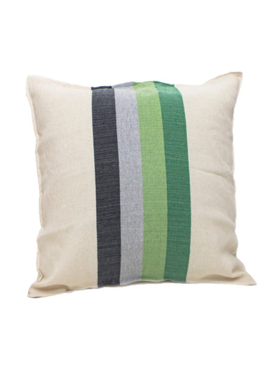 Pillowcase- Color Block Woven  - Avocado