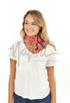 Embroidered Bandana- Multiple Colors Available