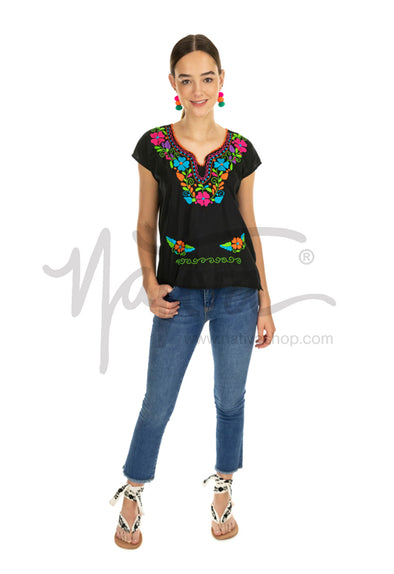 Kimono Blouse - Multiple Colors & Sizes