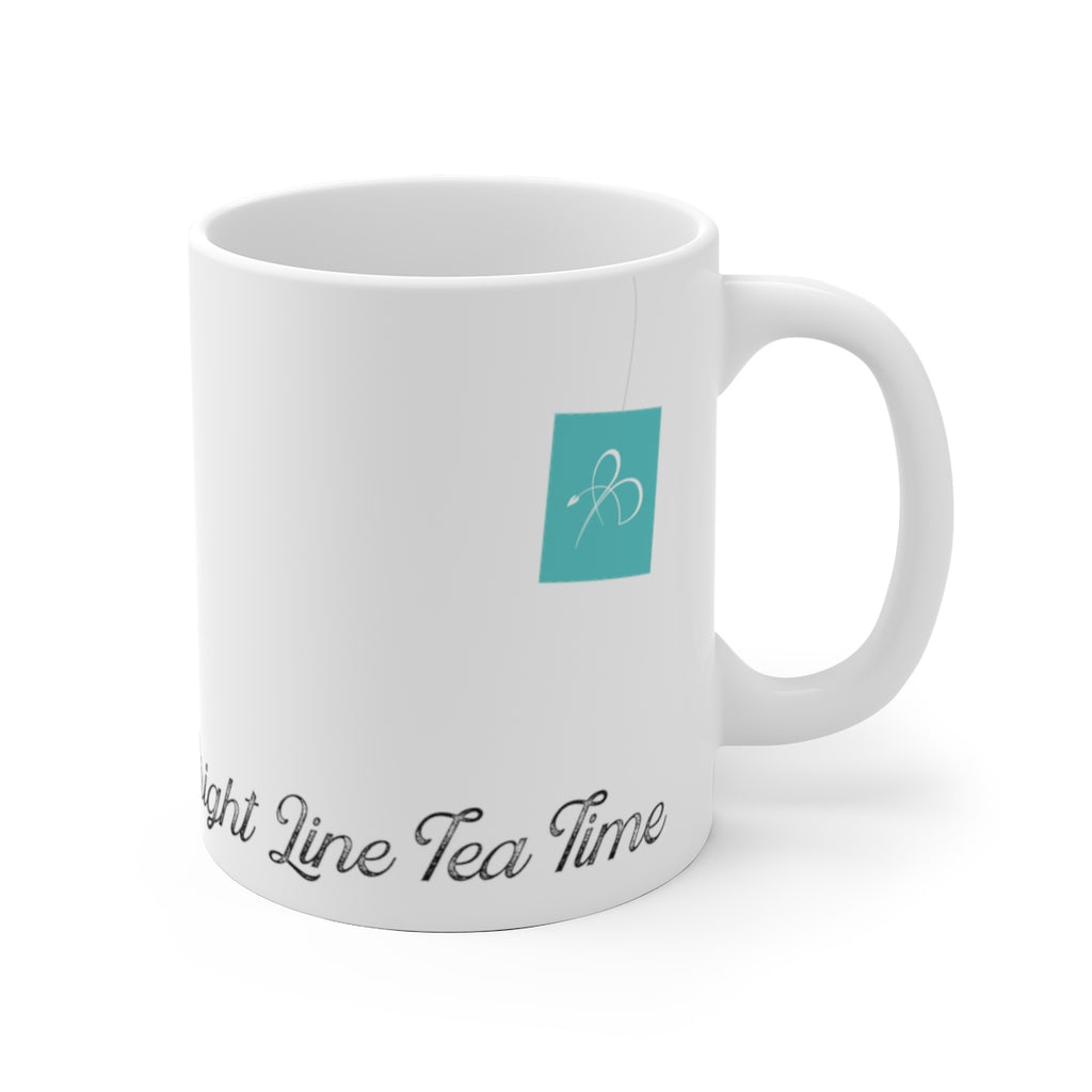 Bright Line Tea Time Mug