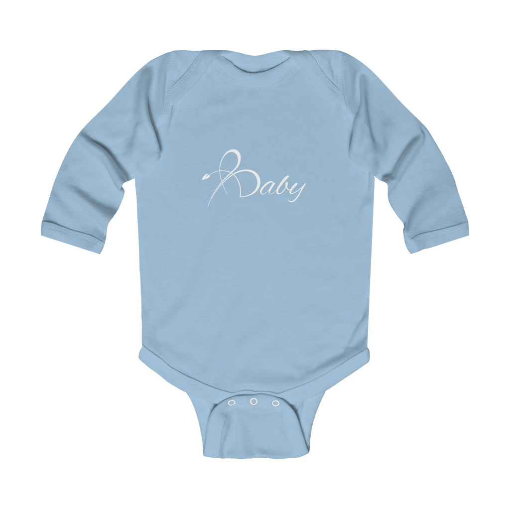 "Bright Line ""Baby"" Infant Long Sleeve Bodysuit"