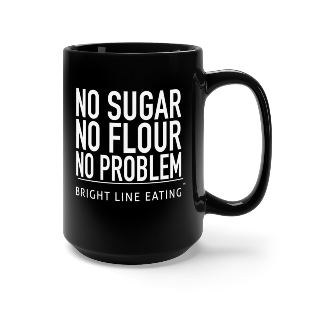 No Sugar No Flour No Problem Oversized Mug
