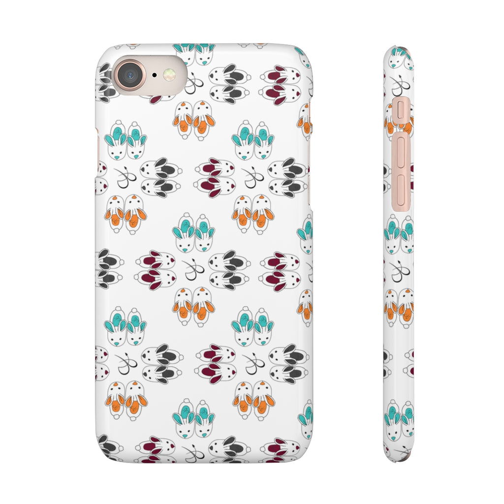Bunny Slipper Kaleidoscope Phone Cover