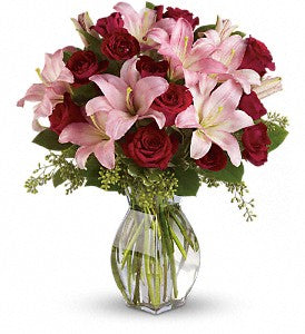 Lavish Love Bouquet with Long Stemmed Red