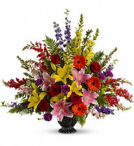 Walk in Rainbows by Teleflora