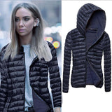 Women's Long Sleeve Winter Coat 4 Colors