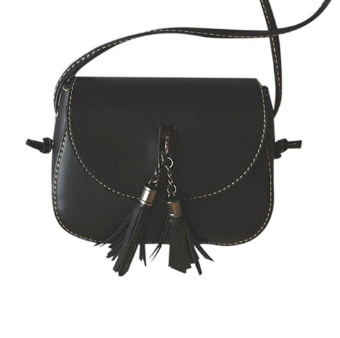 women's leather Tassel crossbody bags for women bags handbags women famous brands bolsa feminina #LREL