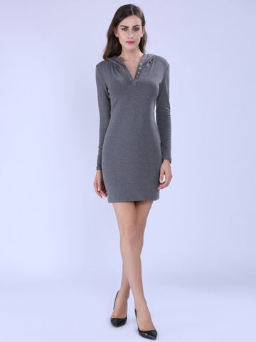 Casual Long Sleeve Women's Dress