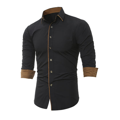Men's Button Down Long Sleeve Slim-Fit Dress Shirts