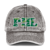 Camo PHL with Philly Bell Vintage Cotton Twill Cap