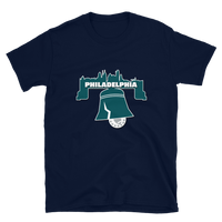 Philly Skyline Bell Football T-Shirt
