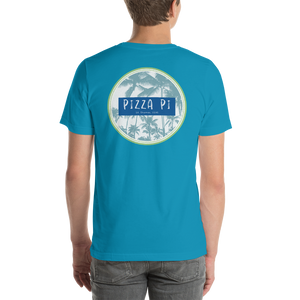PiZZA Pi Palms - Double Sided Bella + Canvas Short-Sleeve Unisex T-Shirt