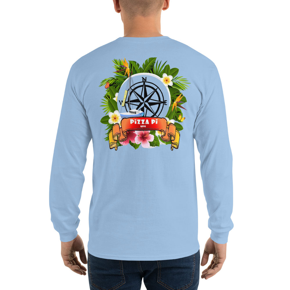 PiZZA Pi Long Sleeve T-Shirt