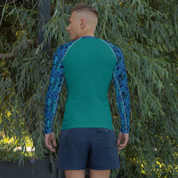 PiZZA Pi Men's Rash Guard