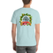 PiZZA Pi Tropical - Double Sided Bella + Canvas Short-Sleeve Unisex T-Shirt