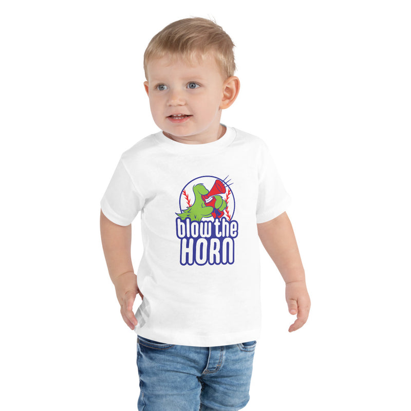 Toddler Short Sleeve Blow the Horn Tee