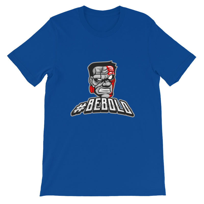 """Be Bold!"" Graphic Short-Sleeve Unisex T-Shirt"