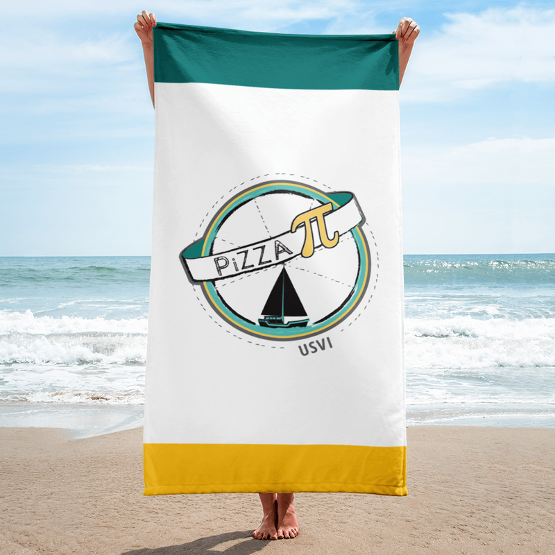 PiZZA Pi Beach Towel