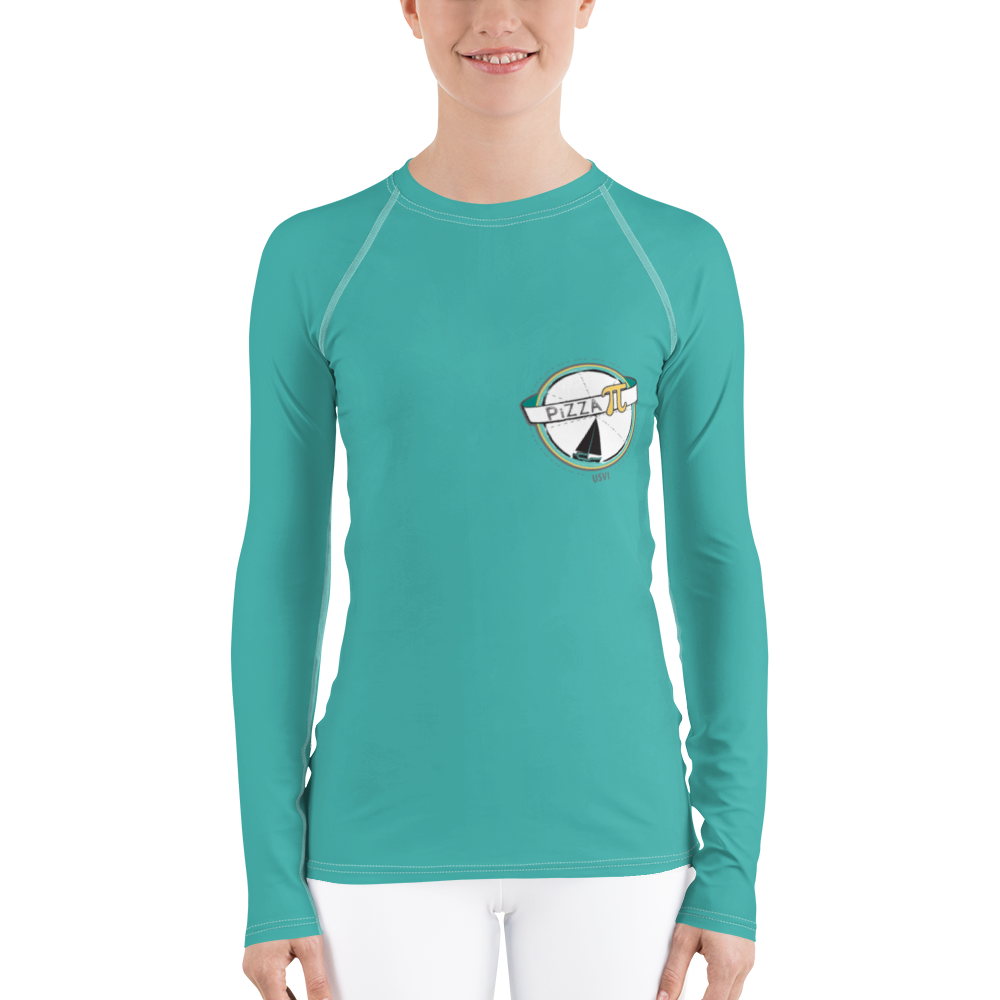 PiZZA Pi - Solid Women's Rash Guard