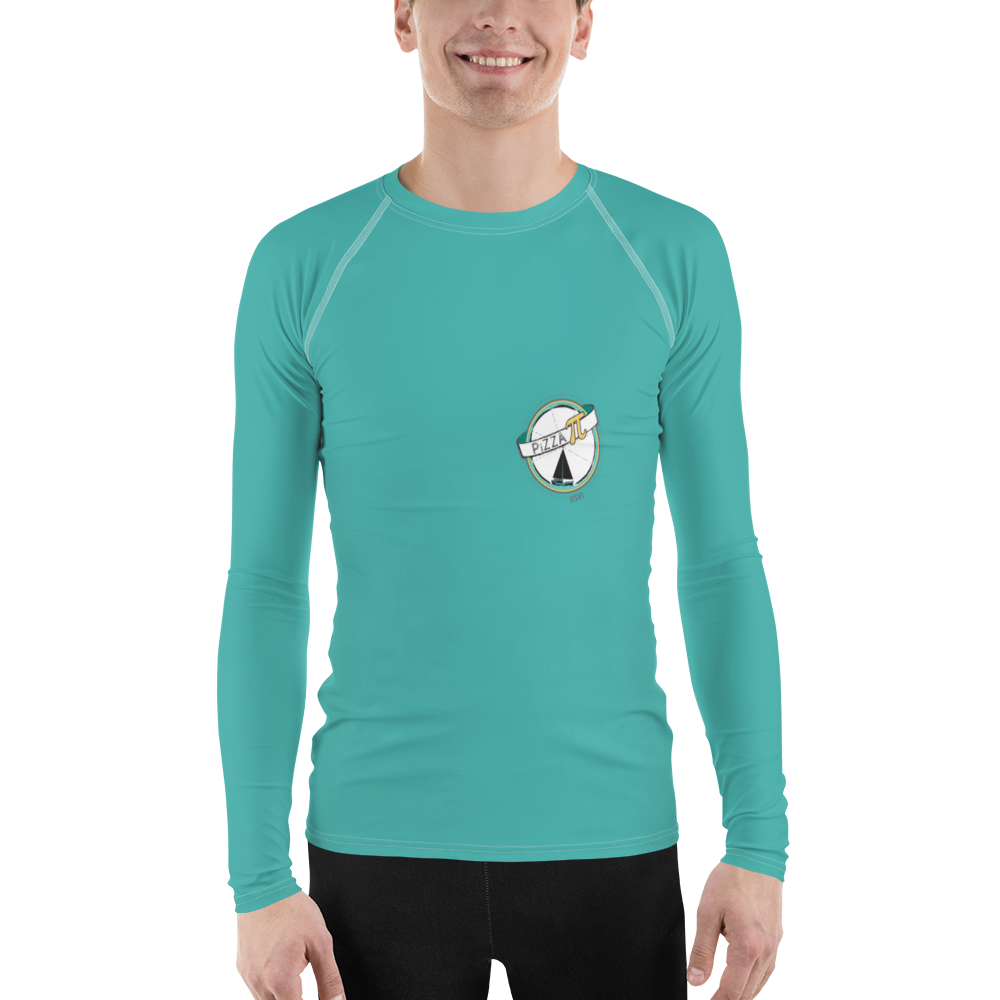 Pizza Pi - Solid Men's Rash Guard