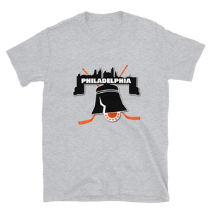 Philly Skyline Bell Hockey T-Shirt