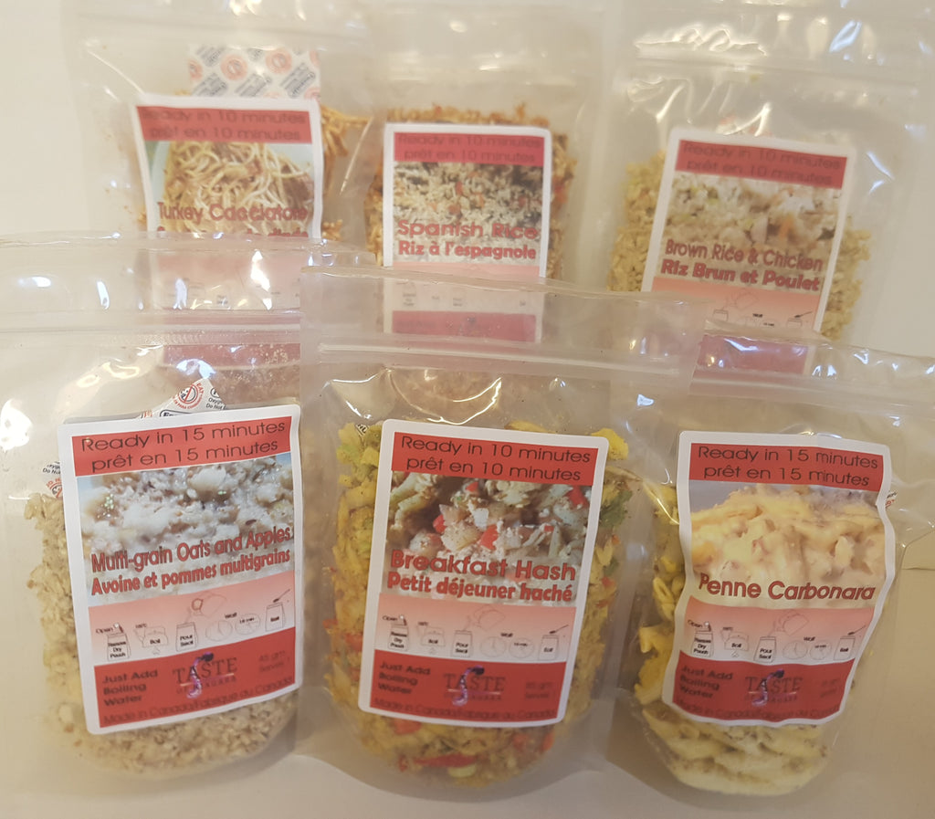 Portable Provisions (Freeze Dried Meals)