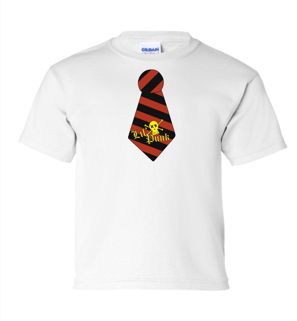 Punker-Tie-Youth-White-Tee-Mock