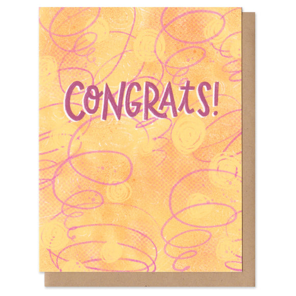Colorful Classics Congrats Greeting Card
