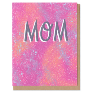 Colorful Classics Mom Greeting Card