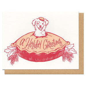 A Holiday Greeting Greeting Card