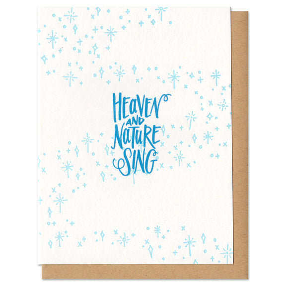 Heaven and Nature Sing Greeting Card