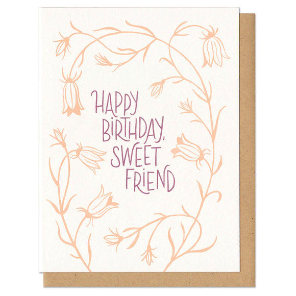 Happy Birthday, Sweet Friend! Greeting Card