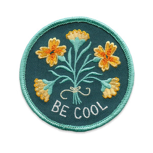 Floral Feelings - Be Cool Patch (Limited Edition! / 2nd Edition Colorway)