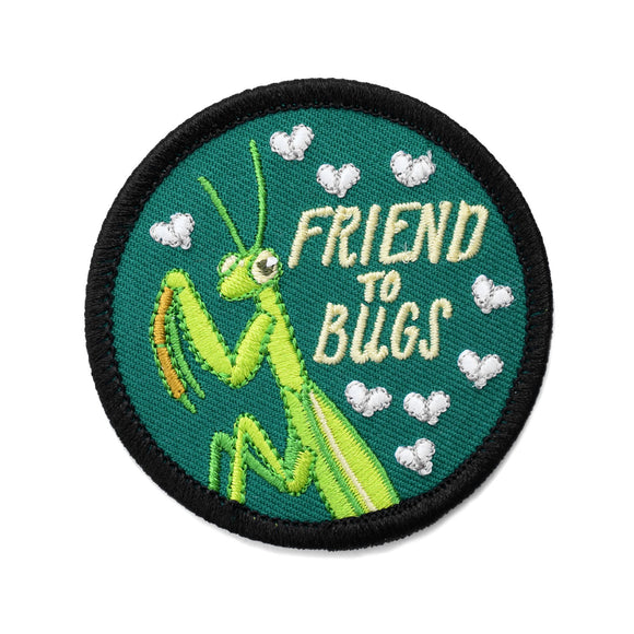Friend To Bugs Praying Mantis Patch