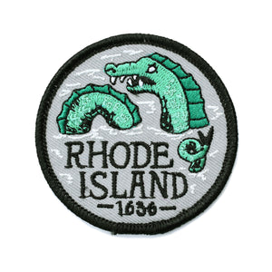 Rhode Island Sea Serpent Patch